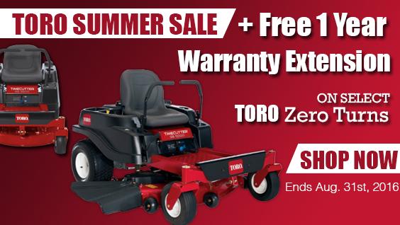 Toro Summer Sale